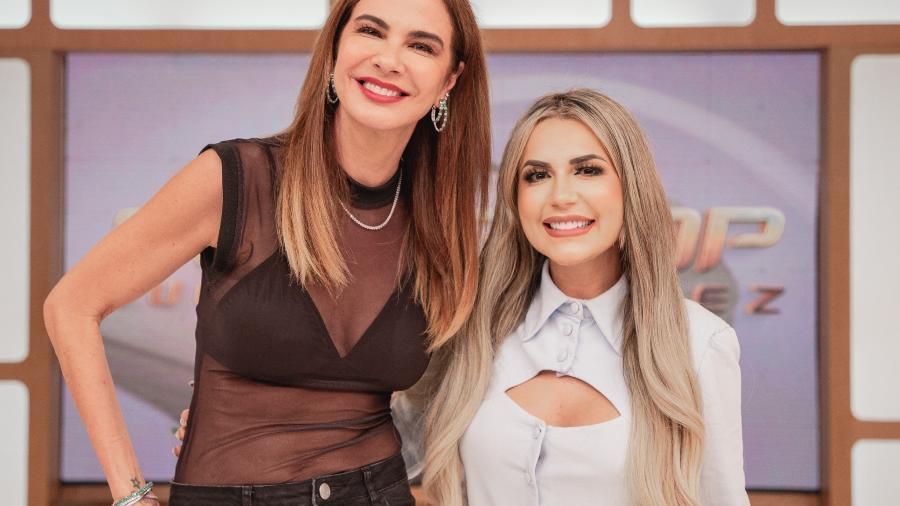"""Deolane Bezerra participa do """"SuperPop"""", apresentado por Luciana Gimenez - Wellington Marques"""