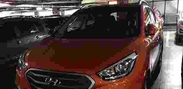 Hyundai ix35 com novo visual foi visto pelo leitor Daniel Pilavjian em um shopping de SP - Daniel Pilavjian/UOL