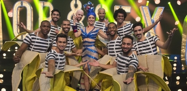 "Fernanda Lima apresenta ""Amor & Sexo"" com figurino inspirado em Carmem Miranda - Estevam Avellar/TV Globo"