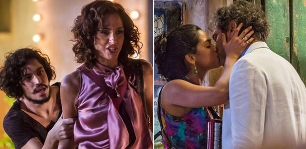 """Em """"Velho Chico"""", Tereza se desespera ao ver Santo e Luzia se beijando - Reprodução/Gshow"""