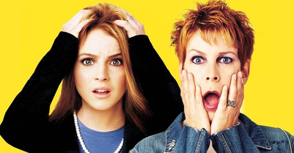 Lindsay Lohan e Jamie Lee Curtis em