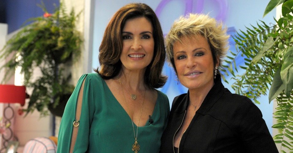 21.jun.2012 - Fatima Bernardes e Ana Maria Braga