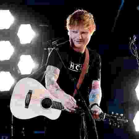 "Ed Sheeran mostrou sua nova música, ""Shape of You"", no Grammy 2017 - Kevork Djansezian/Getty Images/AFP"
