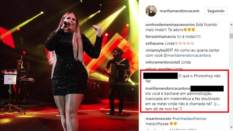 Reprodução/Instagram Marília Mendonça