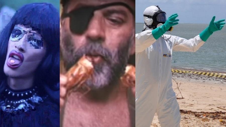 """Cena de filmes da mostra """"Brasil Distópico"""" - Reprodução/Montagem"""