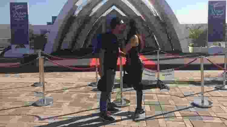 Raquel e Gabriel se casaram há seis no Rock in Rio no show do Red Hot e voltaram para comemorar bodas - Felipe Branco Cruz/UOL - Felipe Branco Cruz/UOL