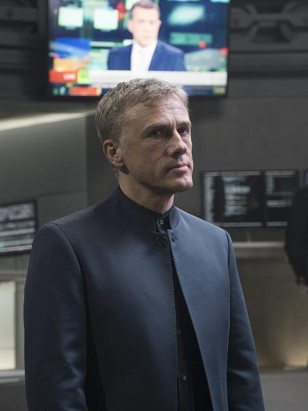 Christoph Waltz com o vilão Blofeld em 007 Contra Spectre - Divulgação