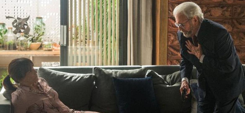 Natanael tenta matar nora pela 3ª vez, mas sofre infarto e morre; web vibra - Reprodução/TV Globo