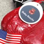 A bagagem do Baby Bacchi recebeu identificação personalizada - Reprodução/Instagram