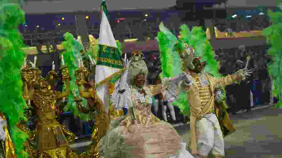 Imperatriz Leopoldinense no Carnaval 2018 - Bruna Prado/UOL