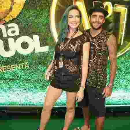 Luana Piovani e Pedro Scooby em foto de 2018 - Gianne Carvalho/UOL
