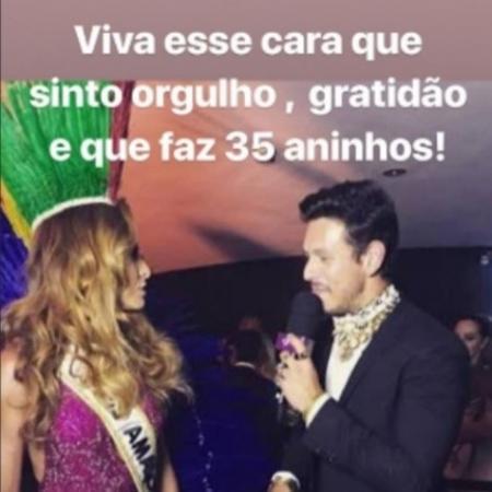 Sabrina Sato parabeniza João Vicente Castro - Reprodução/Instagram/sabrinasato