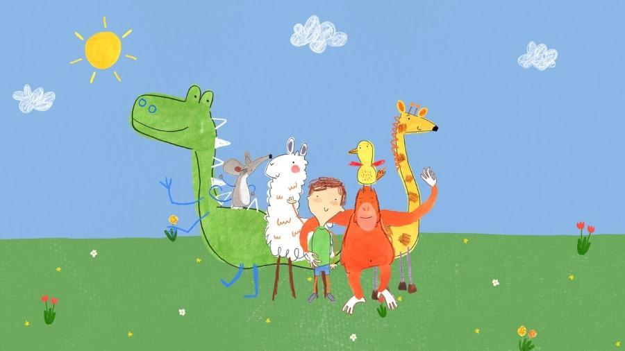 """Desenho """"Pablo"""", da NatGeo Kids, é protagonizado e dublado só por pessoas com autismo - Divulgação/NatGeo Kids"""