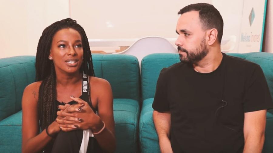 Pathy Dejesus é entrevistada por Álvaro Leme - Reprodução/YuTube