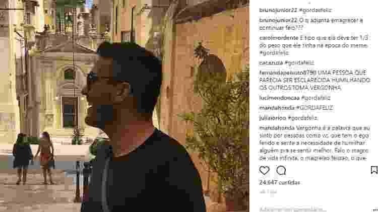Internautas criticam André Marques após mensagem do apresentador para jovem que o imitou - Reprodução/Instagram - Reprodução/Instagram