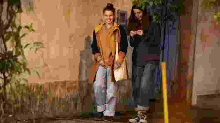 Bruna Linzmeyer e a namorada, Priscila Visman, têm noite de passeio romântico no Rio - Thiago Martins/AgNews - Thiago Martins/AgNews