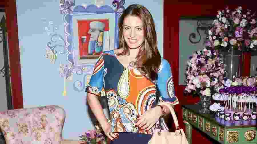 A atriz Elaine Mickely - Manuela Scarpa/Brazil News