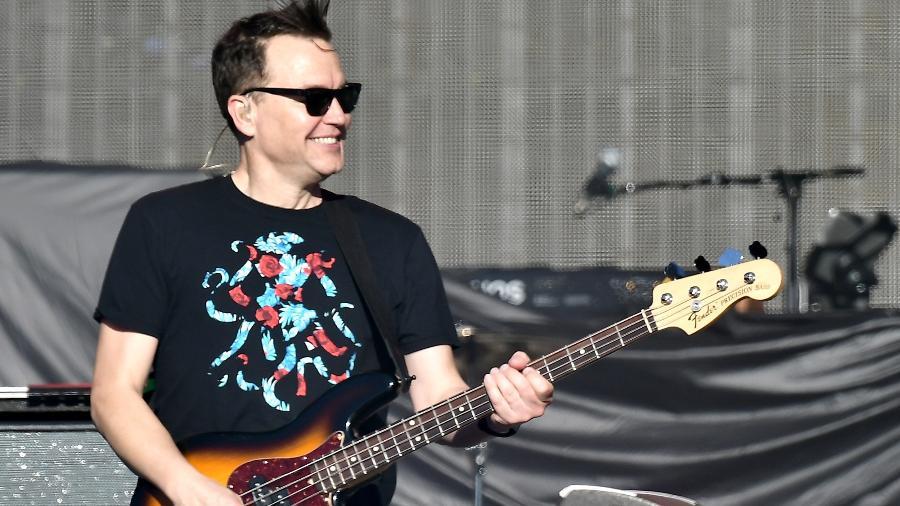 Mark Hoppus é baixista do Blink 182 - Gustavo Caballero/Getty Images
