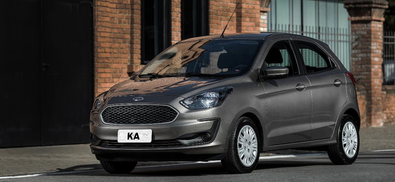 Ford Ka é hoje o segundo carro mais vendido do Brasil, com 15.654 unidades emplacadas de janeiro a fevereiro - Divulgação