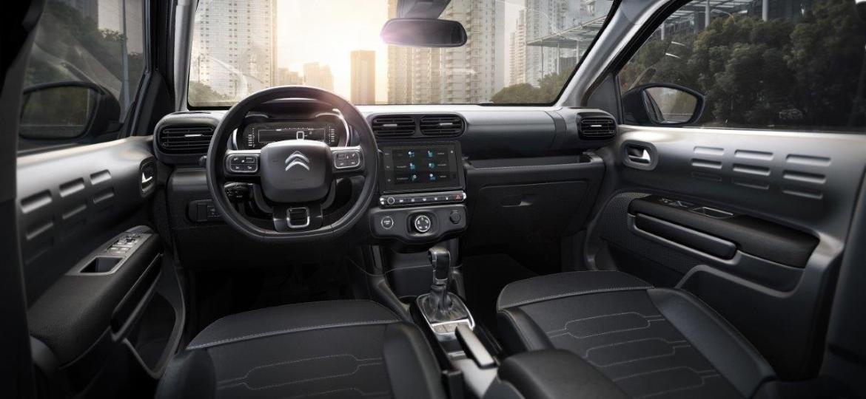 Painel do C4 Cactus é um dos destaques do carro, de acordo com a Citroën - Divulgação