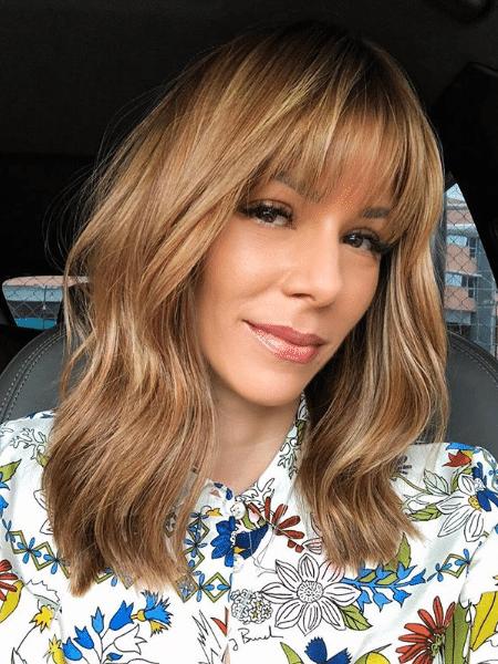 Ana Furtado com novo visual - Reprodução/Instagram
