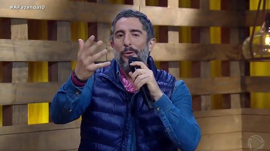 """Entrada do Marcos Mion em """"A Fazenda"""" foi um acerto da Record - Reprodução/RecordTV"""