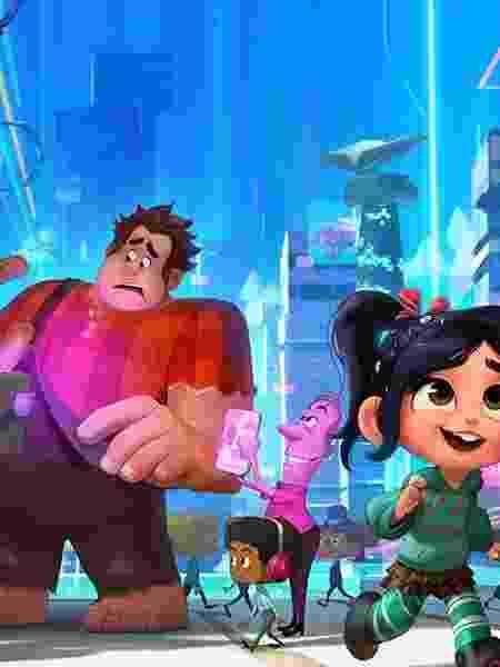 """Cena da animação da Disney """"WiFi Ralph"""" - Reprodução"""