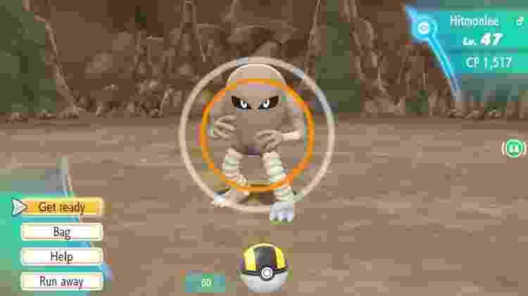 Capturas em Pokémon Let's Go - Reprodução - Reprodução