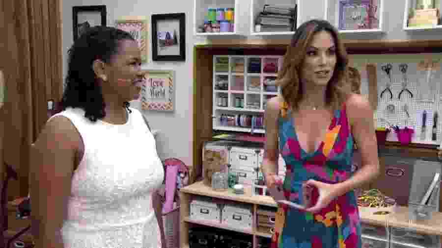 """Ana Furtado e Raquel Amaral viram meme no quadro """"Isso a Globo Não Mostra"""", do """"Fantástico"""" - Reprodução/TV Globo"""