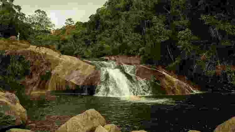 Cachoeira do Escorrega, em Visconde de Mauá, no Rio de Janeiro - Leoaraujo7/Getty Images/iStockphoto