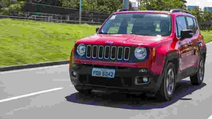 Jeep Renegade Sport é configuração preferida do consumidor, aponta levantamento - Divulgação