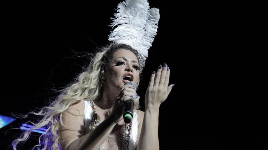 A cantora pernambucana Michele Melo, Rainha do Brega  - Alcione Ferreira/UOL