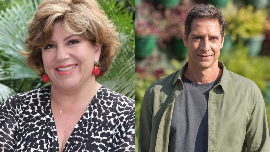 Silvia Poppovic e Luís Ernesto Lacombe - Divulgação