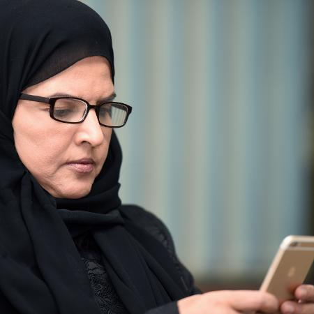 Aziza al-Yusef é uma das dez mulheres julgadas na Arábia Saudita  - Fayez Nureldine/AFP