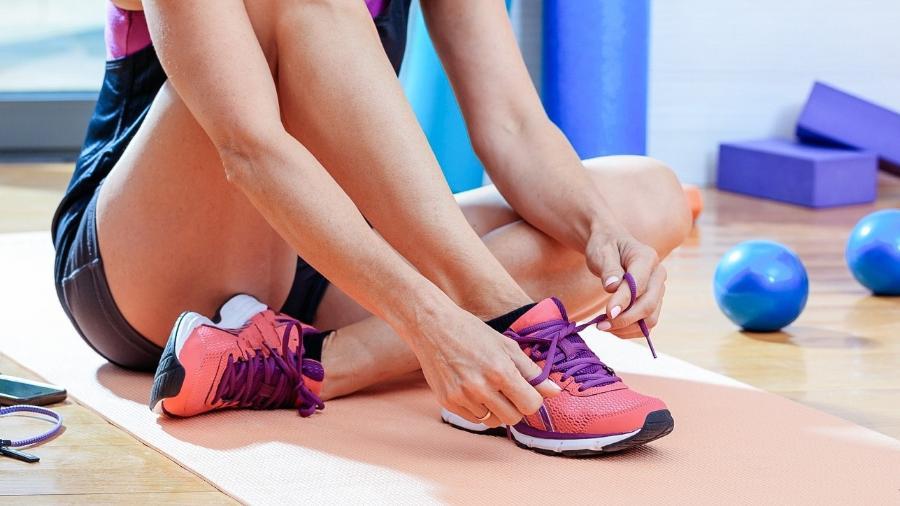 O calçado é um equipamento importante para garantir conforto e evitar dores no treino - iStock