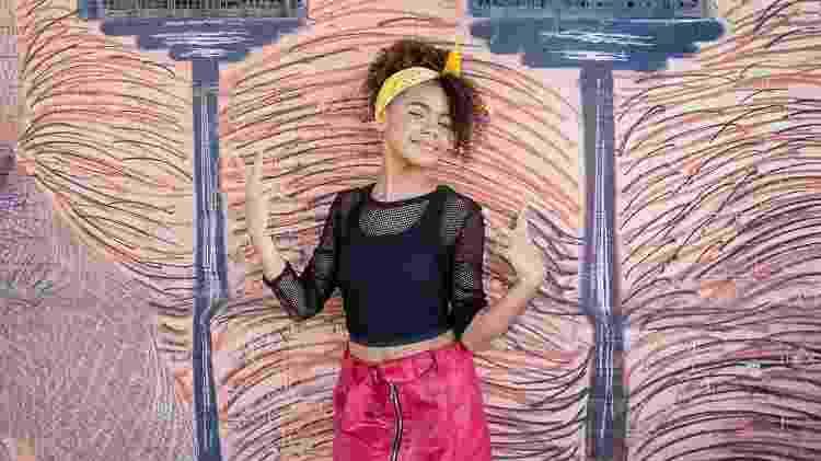 Atriz mirim Alana Cabral faz ensaio rock street - Patrícia Câmara/Divulgação