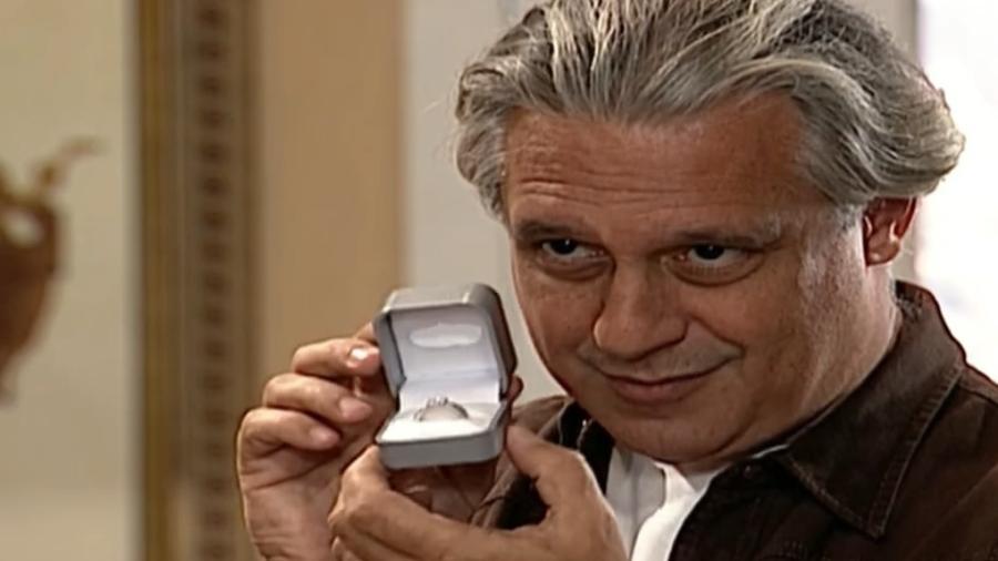 Antônio Fagundes é Atílio em Por Amor (1997) - Reprodução/Globo