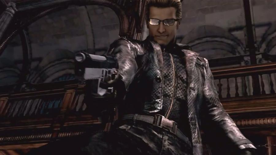 Albert Wesker já apareceu tanto nos games quanto nos filmes de Resident Evil - Reprodução