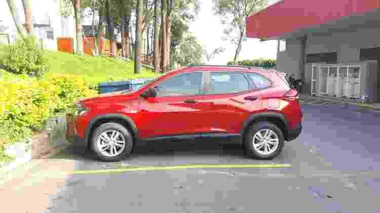 Carro é 1,5 cm mais longo e tem entre-eixos 2 cm maior que o Tracker atual - Vitor Matsubara/UOL