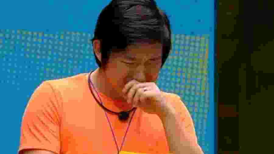 bbb 20: Pyong chorando -  Reprodução/Globoplay