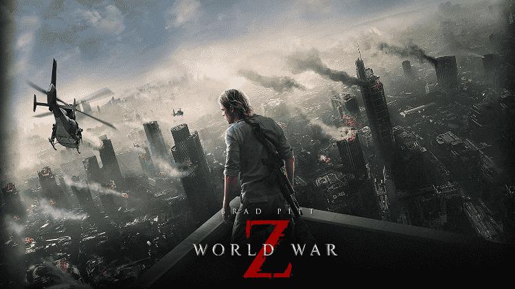 """Pôster do filme """"Guerra Mundial Z"""" - Reprodução"""