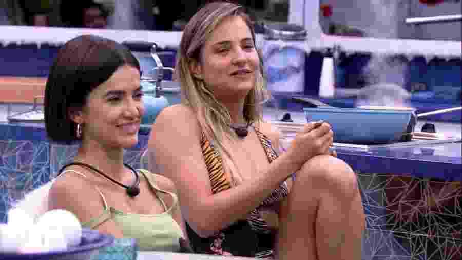 BBB 20 - Sisters conversam na cozinha - Reprodução/Globoplay