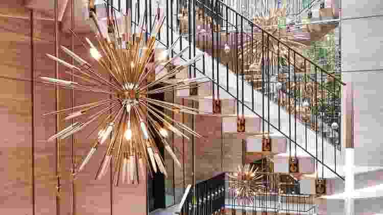 Lustres da mansão de Drake, no Canadá, avaliada em 100 milhões de dólares - Jason Schmidt/Architectural Digest - Jason Schmidt/Architectural Digest
