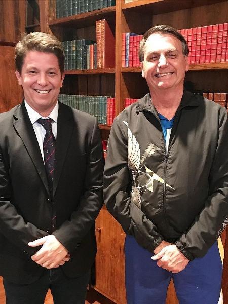 Mário Frias é o novo Secretário de Cultura do governo de Jair Bolsonaro; ele substituiu Regina Duarte - Reprodução / Instagram