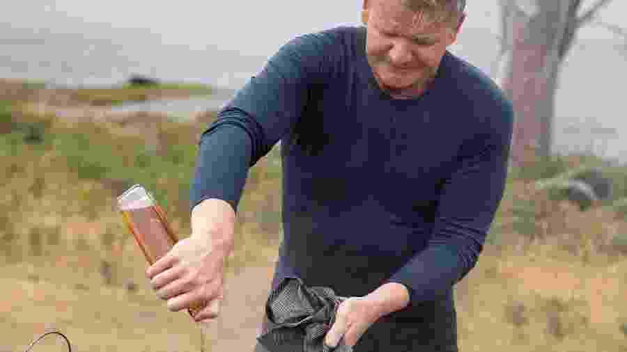 Gordon Ramsay é um chef conhecido pela rigidez em reality shows - Justin Mandel/National Geographic