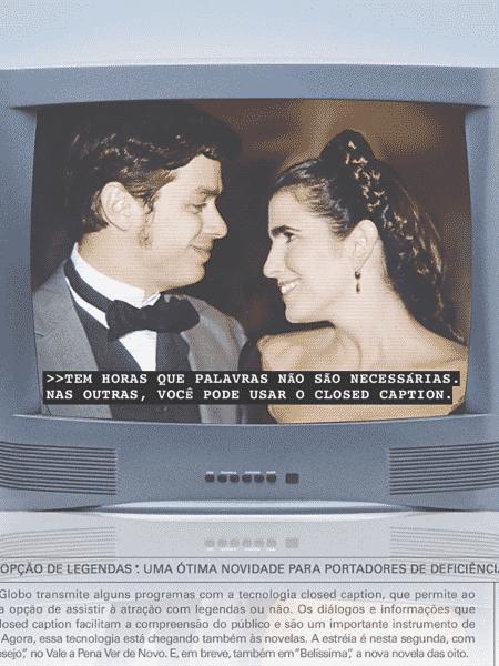 closed captions globo - reprodução/Globo/1999 - reprodução/Globo/1999