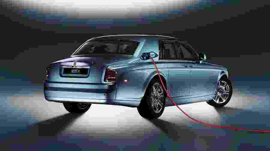 Rolls-Royce 102EX Concept 2011  - Divulgação