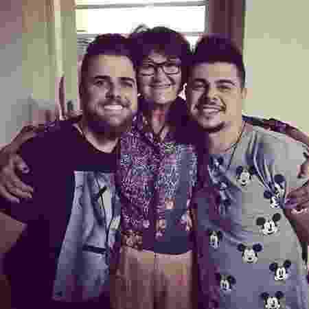 Zé Neto, dona Zenaide e Cristiano - Reprodução/Instagram