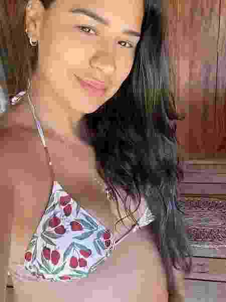 De biquíni, Simone exibe barriguinha de grávida em viagem ao Ceará - Reprodução/Instagram
