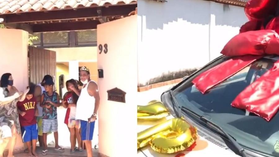 Zeca Pagodinho ganha carro de som e fogos de artíficio no aniversário - Reprodução/Instagram